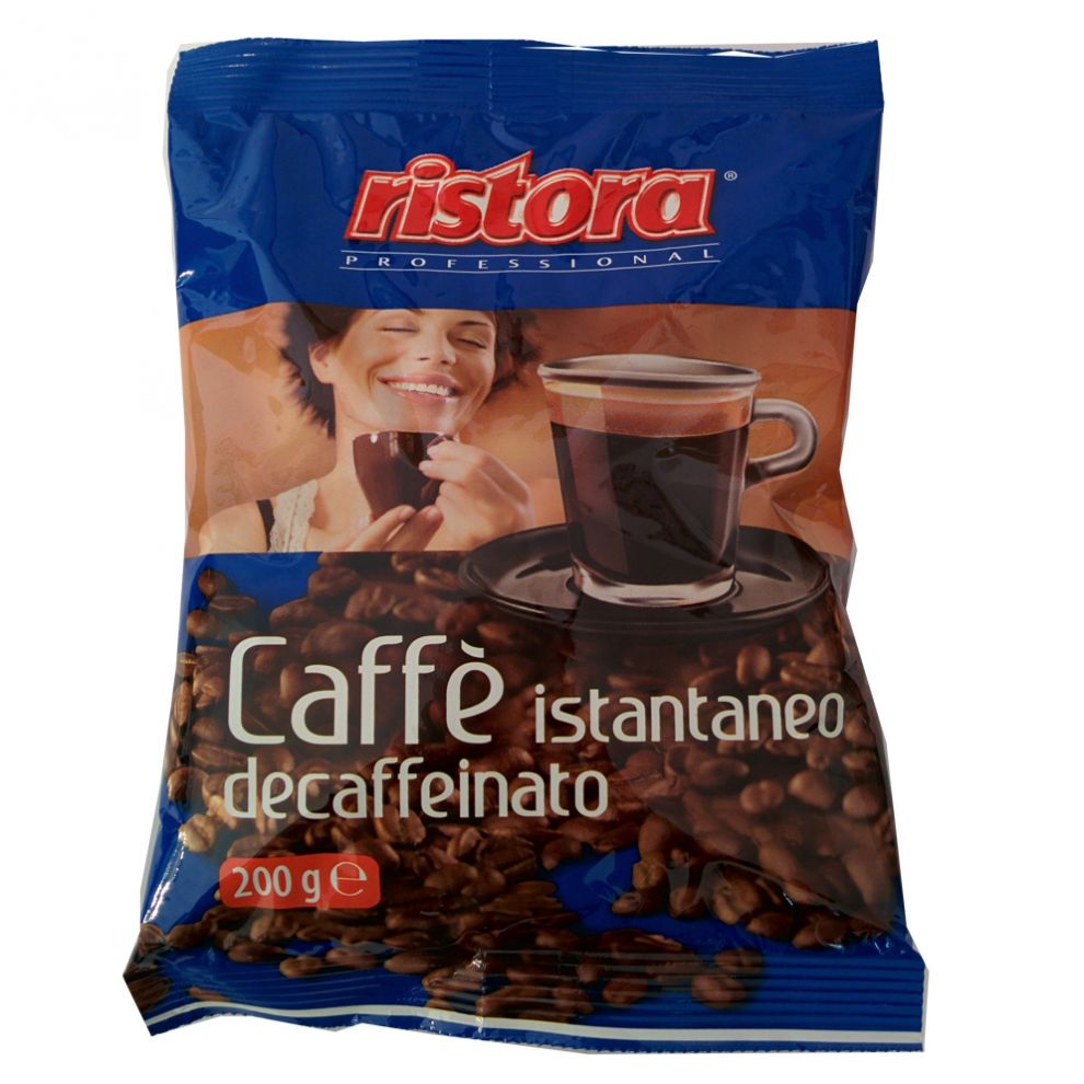 Caffè istantaneo decaffeinato